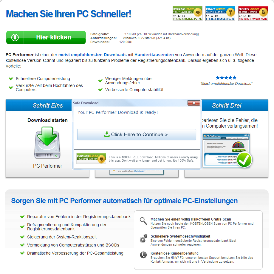 Adware_PUA_Potentially_Unwanted_Application_Germany_Rogue_Ads_PC_Performer