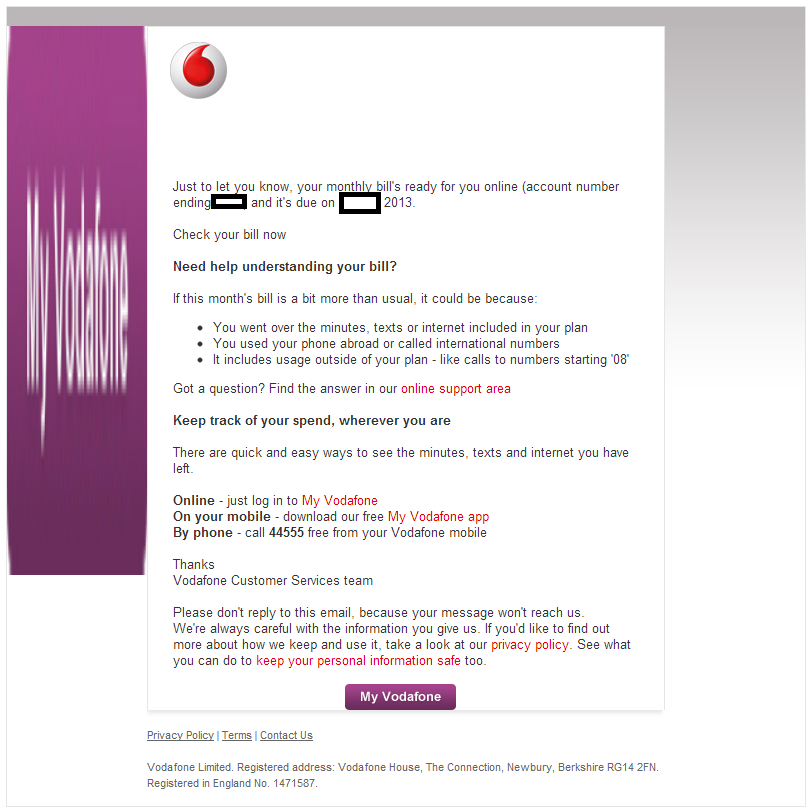 Fake copy of vodafone uk contractyour monthly vodafone bill is fakeemailspamspamvertisedmalwaremalicioussoftwaresocialengineeringvodafoneukunitedkingdomyourbillisready thecheapjerseys