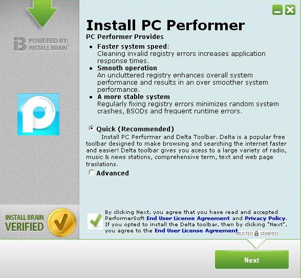 InstallBrain_Delta_Toolbar_PUA_Potentially_Unwanted_Application