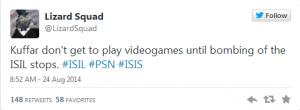 LizardSquad Tweet 3