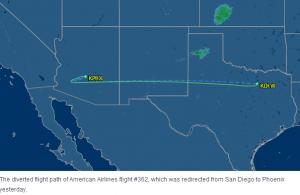 Smedley Flight Diverted