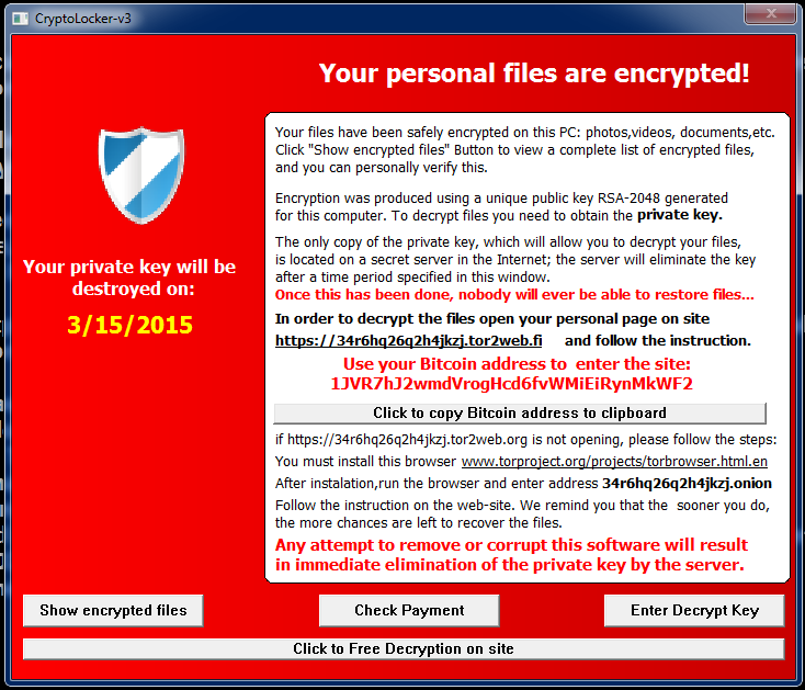 TeslaCrypt – Encrypting ransomware that now grabs your games
