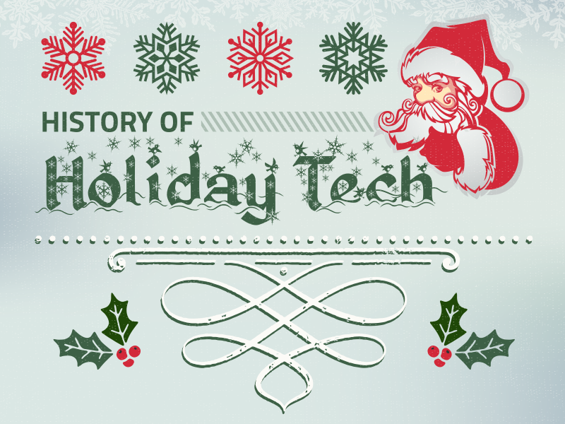 History of Holiday Tech Toys