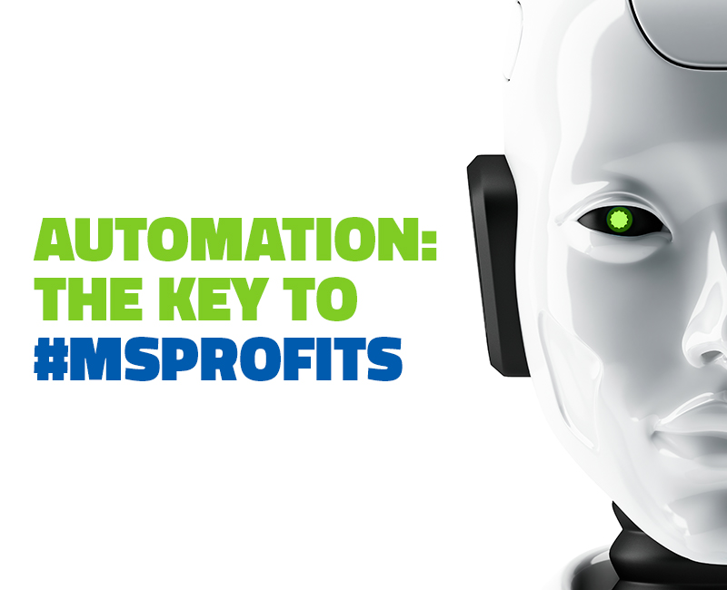 More Automation. More #MSProfits.