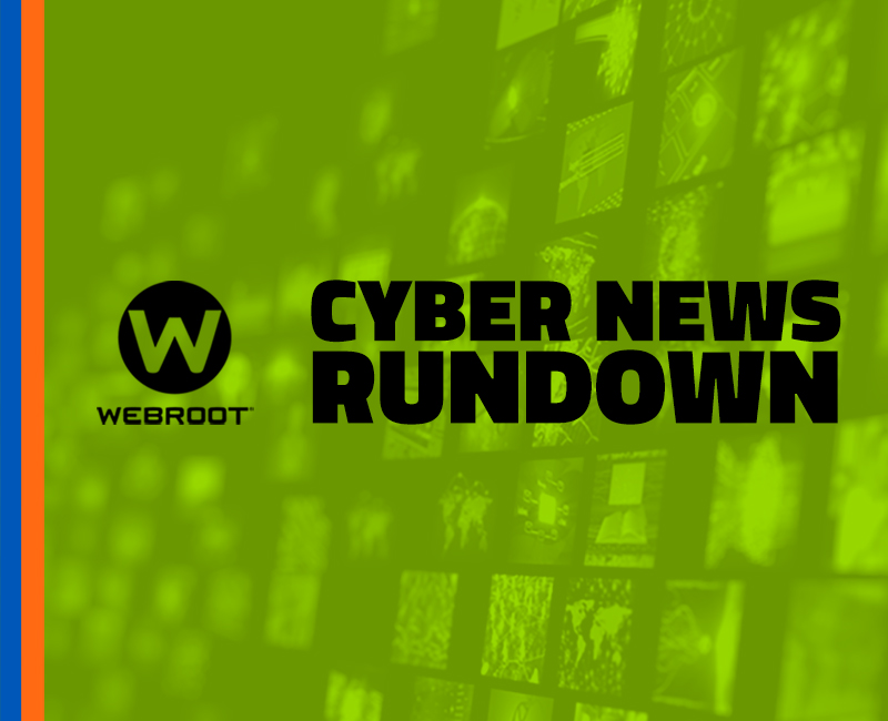 Cyber News Rundown: Edition 12/08/17