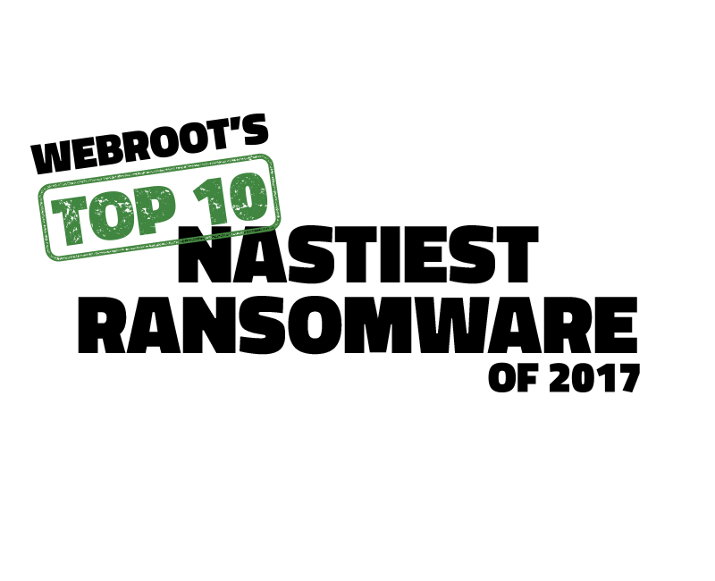 Webroot's Top 10 Nastiest Ransomware Attacks of 2017 | Webroot