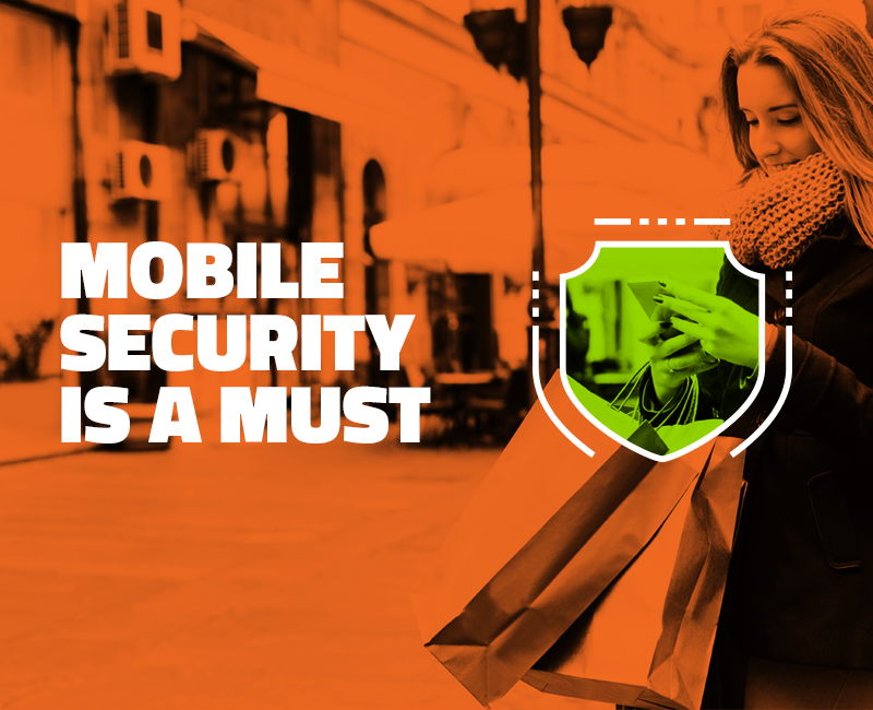Mobile security is a must
