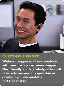 Webroot Customer Support
