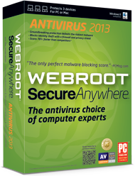 Fastest, lightest antivirus - SecureAnywhere Antivirus 2012