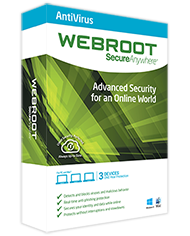 Webroot Antivirus with Spy Sweeper