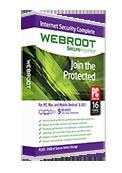 最速で最も軽快なアンチウイルス - SecureAnywhere インターネット セキュリティ コンプリート