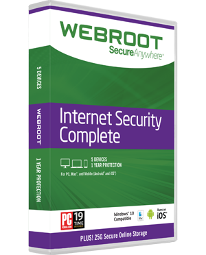 Webroot SecureAnywheree Complete