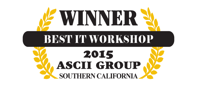 Best IT Workshop 2015 ASCII Group