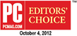 PCMag.com Editors Choice award