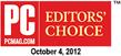 PCMag.com Editors Choice award