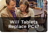 Tablets replace laptops