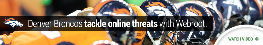Denver Broncos tackle online threats with Webroot - watch the video