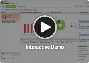 Endpoint console demo