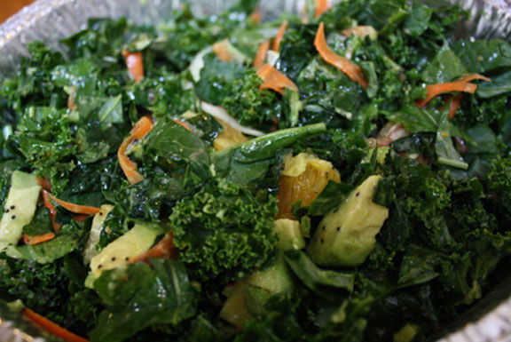 Kale Salad with Orange–Honey Poppyseed Dressing | Newsletter
