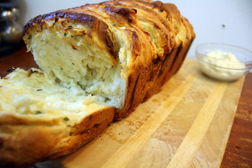 Savory Apple Pull-Apart Bread and Horseradish Butter 1