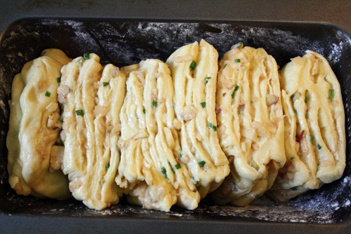 Savory Apple Pull-Apart Bread and Horseradish Butter 6