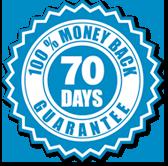 Garantimos reembolso até 70 dias