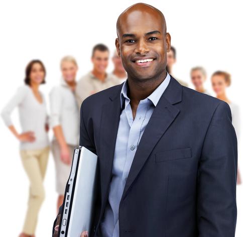 Gruppenaufnahme bestehender Kunden