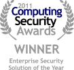 2011 Computer Secuity Awards Winner
