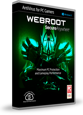 Webroot SecureAnywhere AntiVirus for PC Gamers