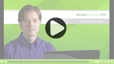 How-to Password Manager video