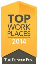 Denver Post Top Workplace 2014