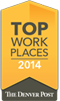 Top Work Places - 2014 - Denver Post