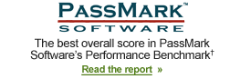 Passmark Software Benchmark Award