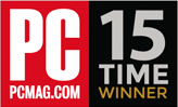 PCMag.com 15 Time winner