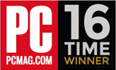 PCMag.com 16 Time winner