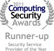 2011 Computing Security Awards Runner-up award