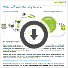 Webroot Web Security datasheet