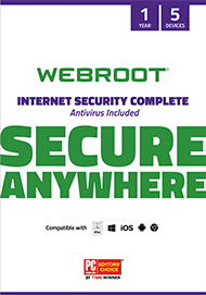 Webroot SecureAnywhere Internet Security Complete Discount Coupon Code