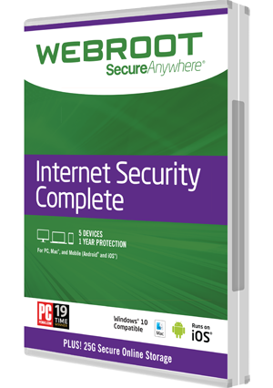Fastest, lightest antivirus - SecureAnywhere Internet Security Complete