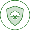 endpoint infographic offline protection green