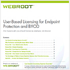 Whitepaper for User-based licensing for Endpoint Protection